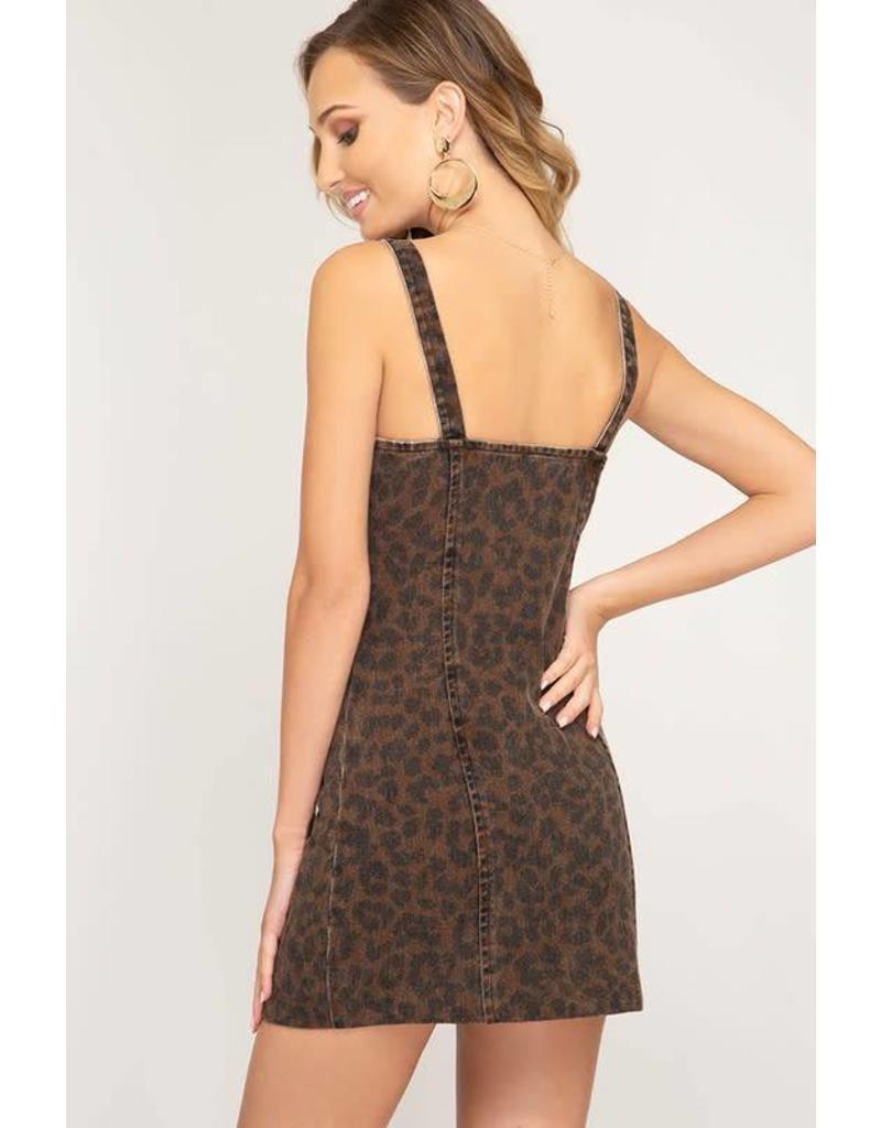 Aria Cheetah Dress