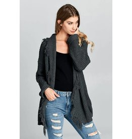 Shredded To Pieces Cardigan
