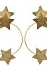 Sheila Fajl Small Cassiopeia Stars Hoop