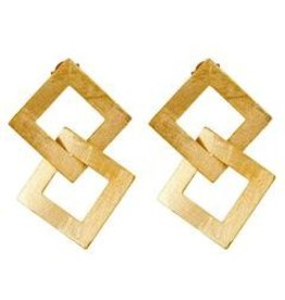 Shelia Fajl Boone Earrings Gold