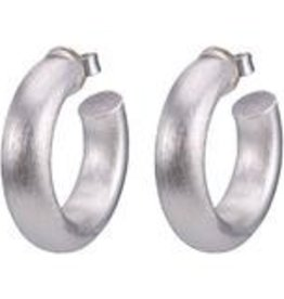 Sheila Fajl Small Chantal Hoops Silver