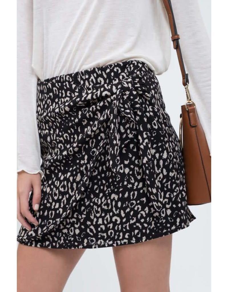 Cheetah Sister Mini Skirt