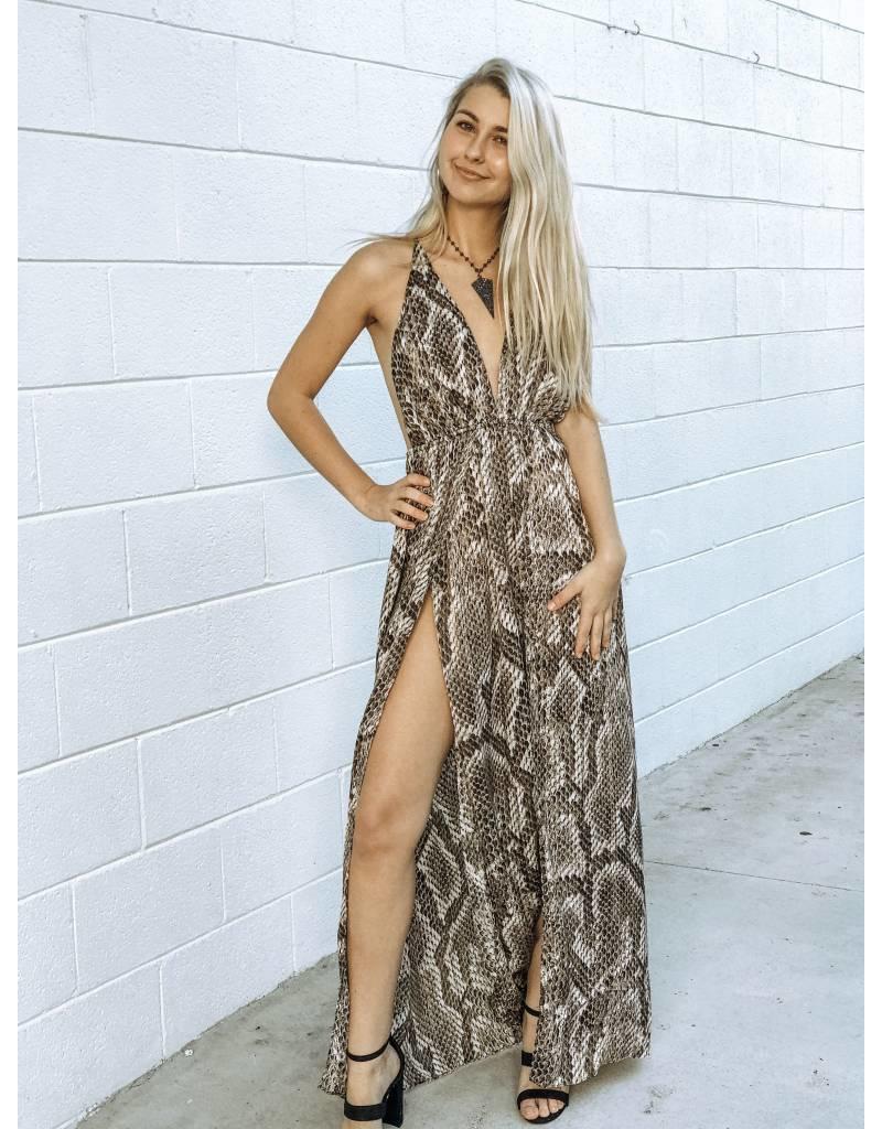Gorjana Snake Print Dress