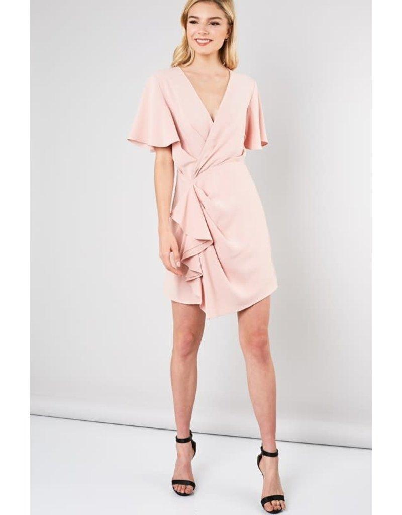 Monica Ruffle Dress