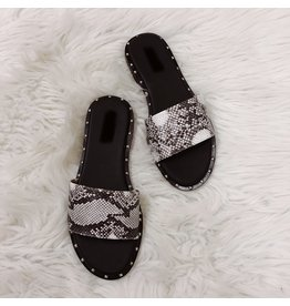 Khloe Studded Slides