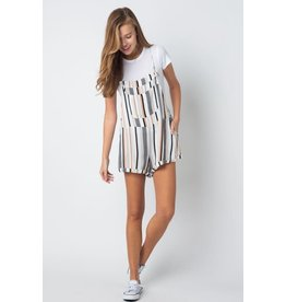 Let's Keep It Casual Striped Romper
