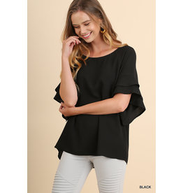 Darling Ruffle Sleeve Top