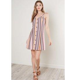 Amanda Stripe Dress