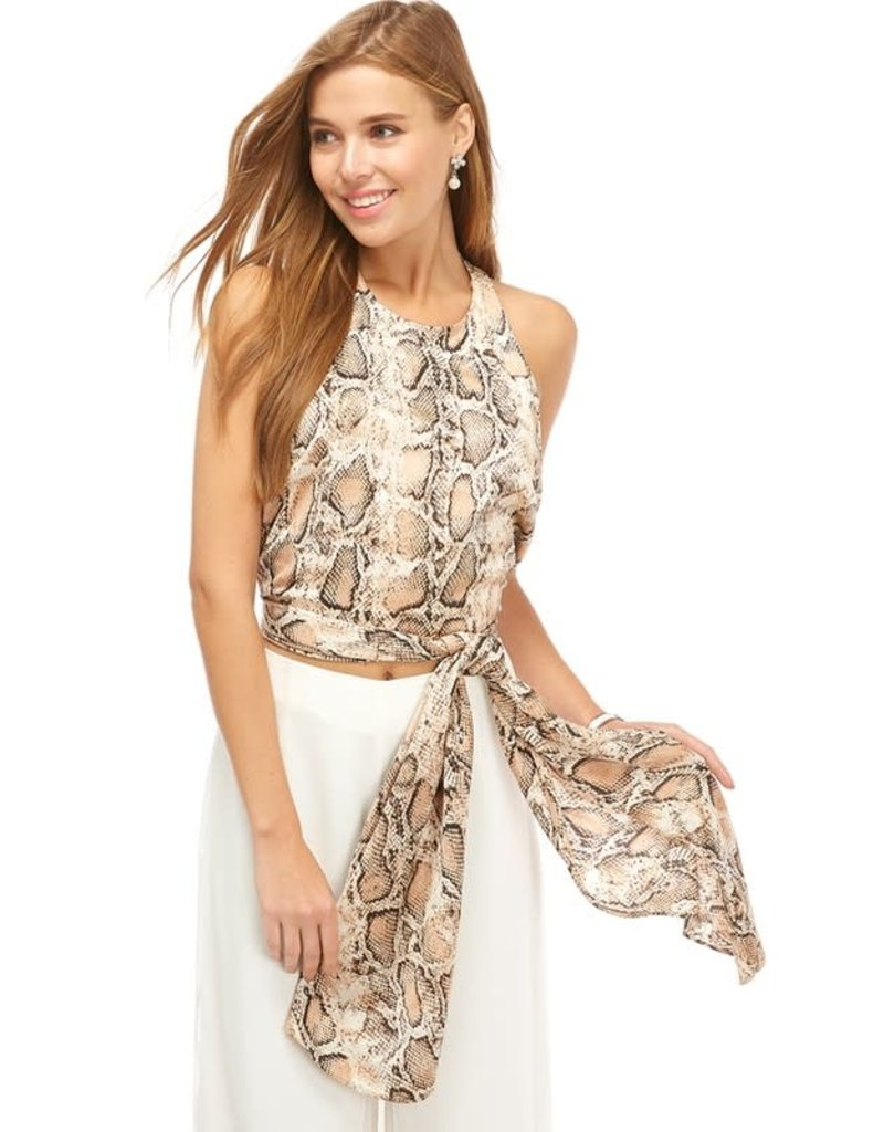 Stay Fierce Wrap Top
