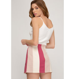 Sally Striped Skirt