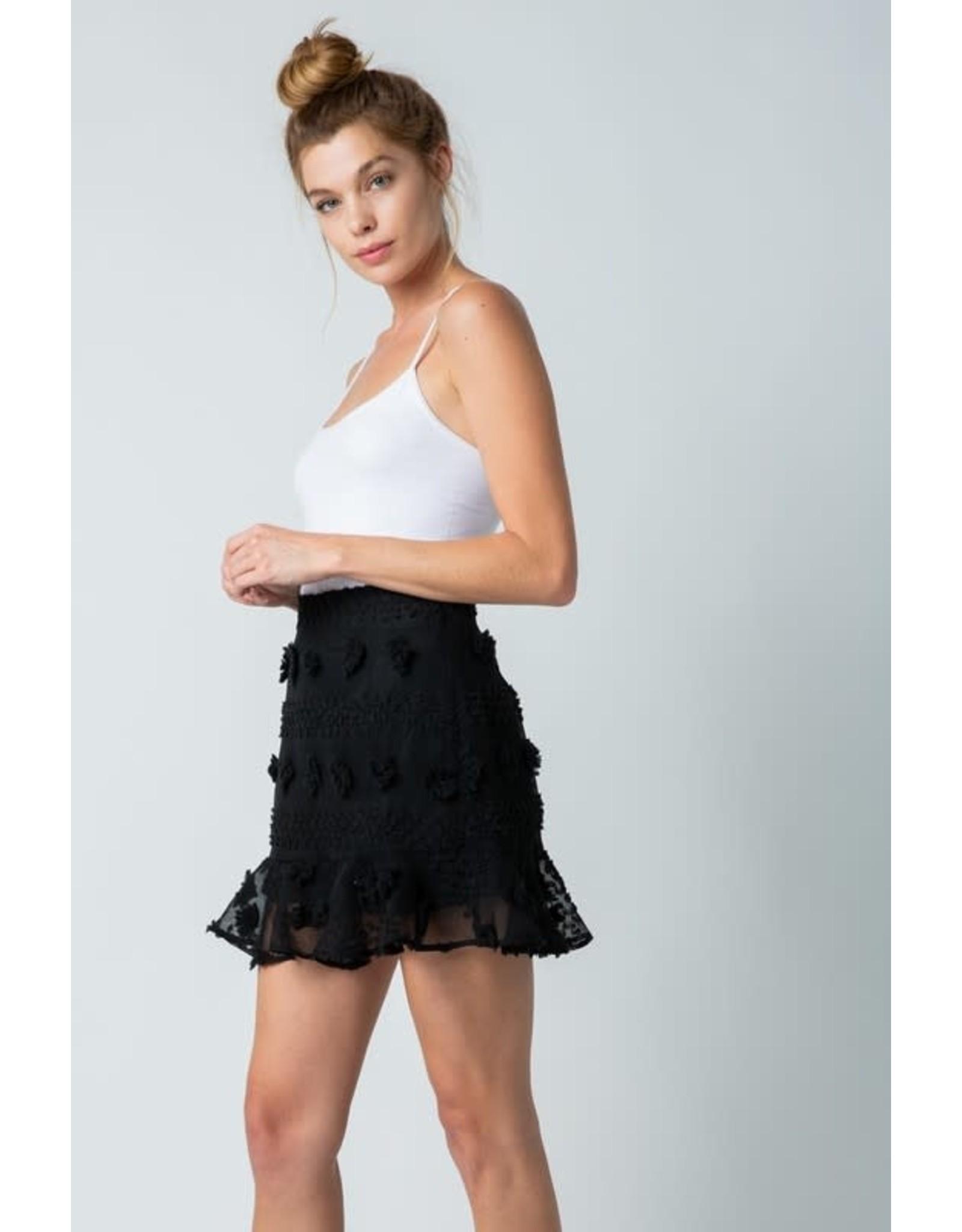 Good Vibes Only Skirt