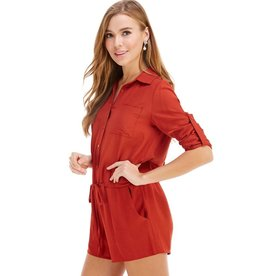 Don't Hate The Player Romper