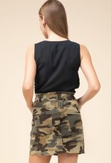 What You Can't See Camo Skirt