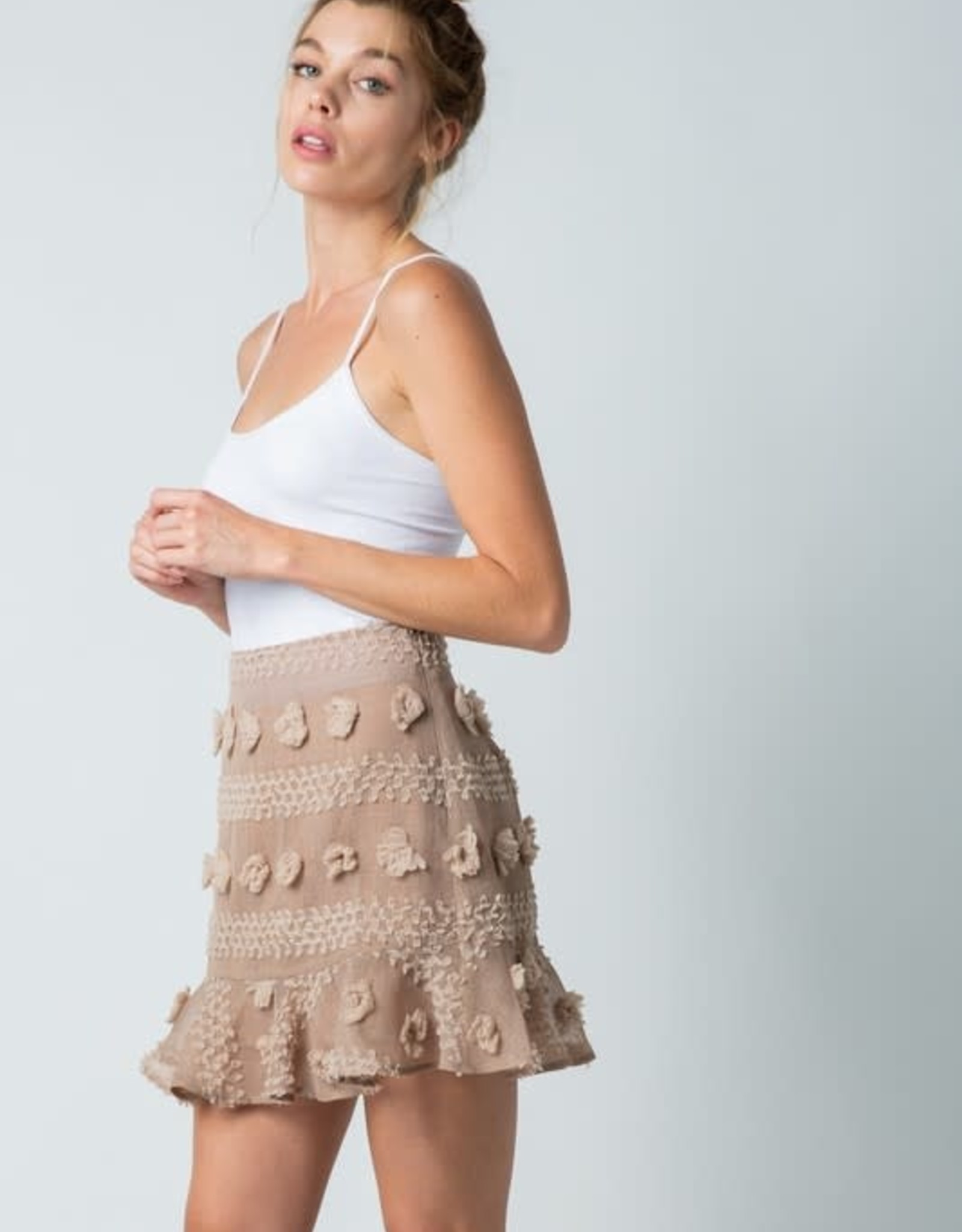 Good Vibes Only Skirt