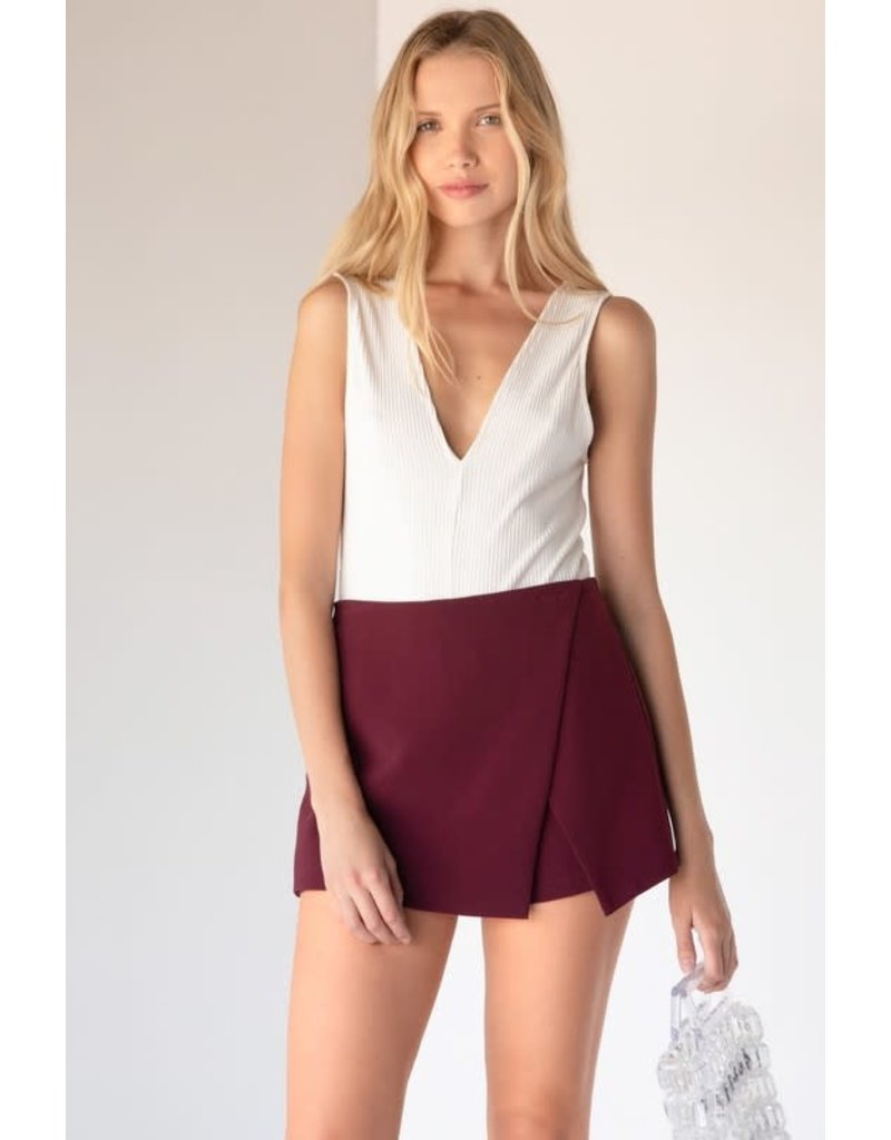 Not That Into You Skort