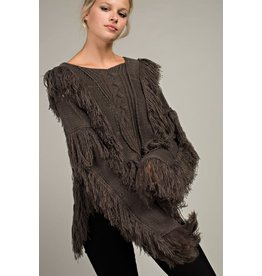 All About Fringe Sweater