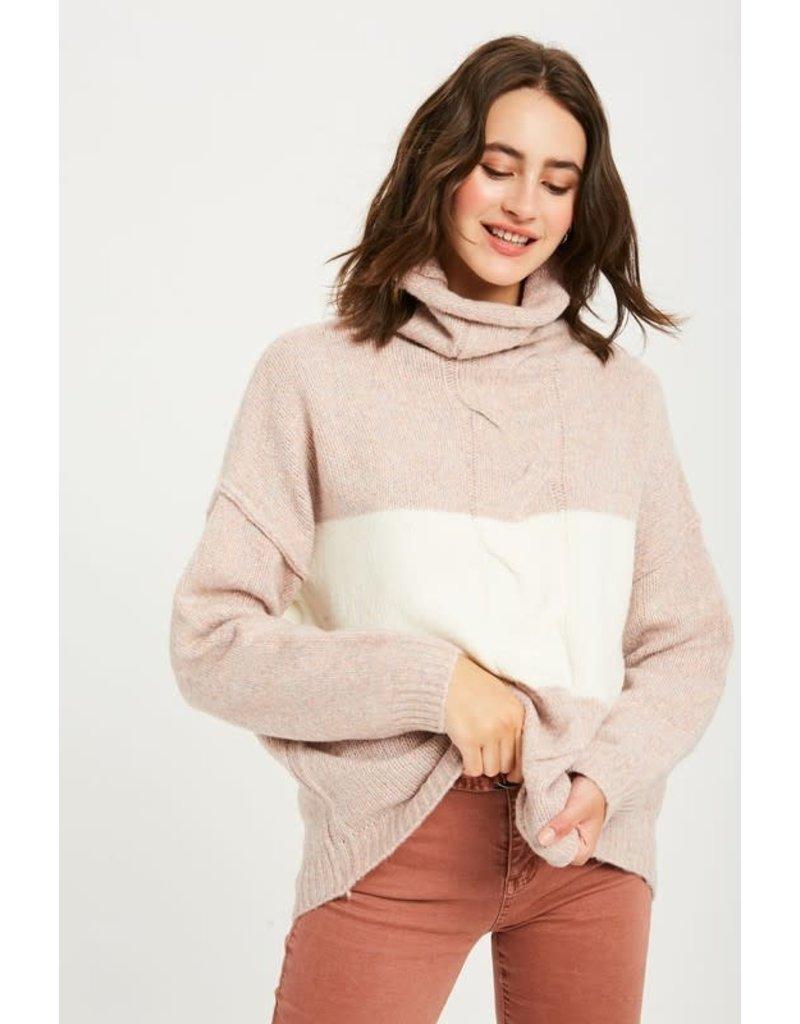 Look Between The Lines Sweater
