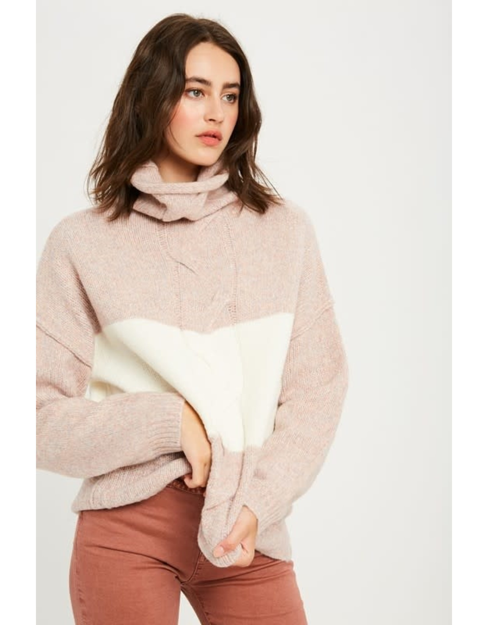 Look Between The Lines Sweater