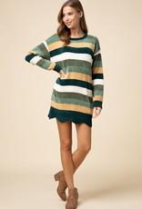 Autumn Calls Sweater Dress