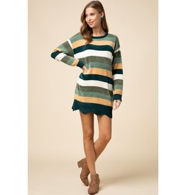 Autumn Calls Sweater Dress