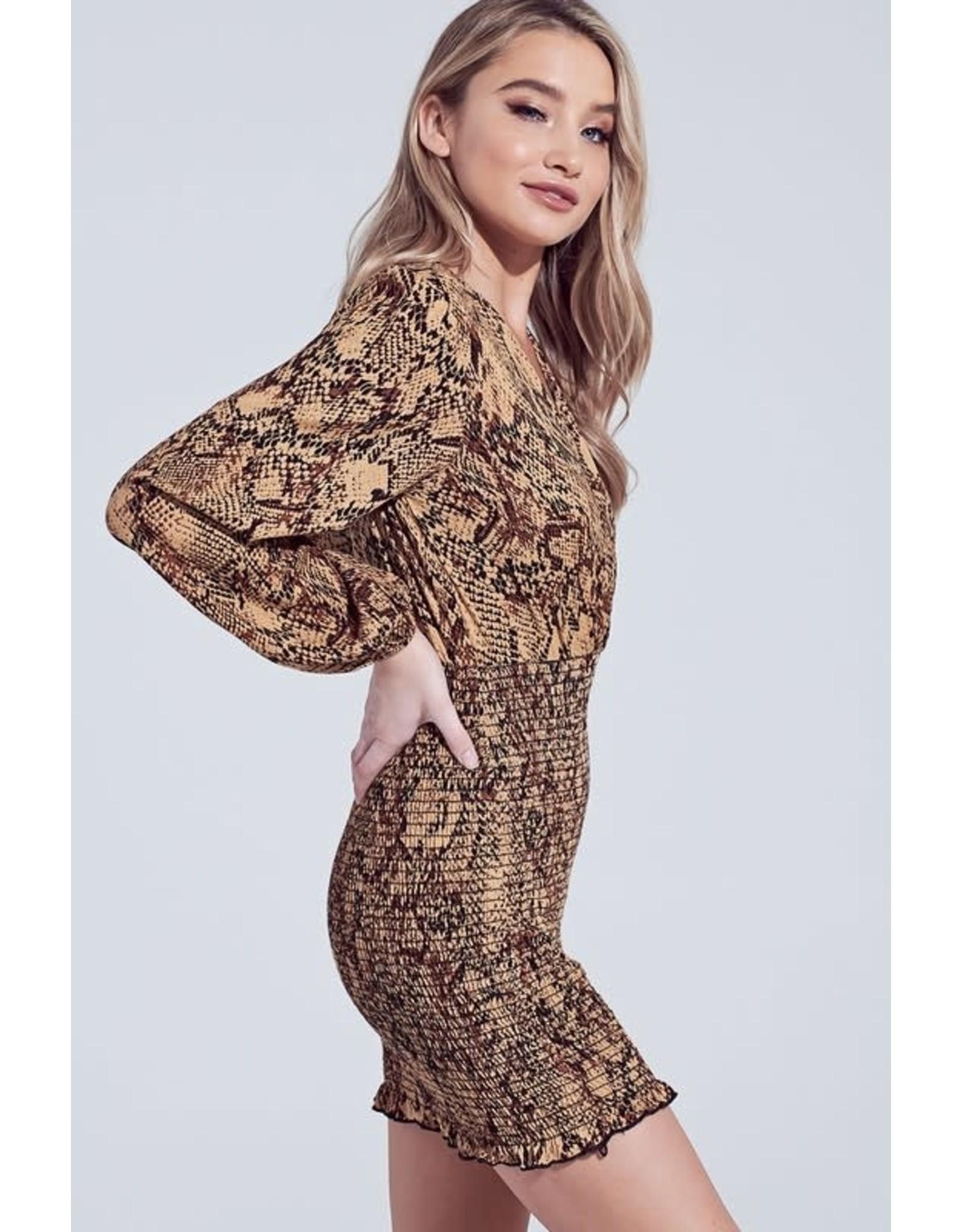 Beautiful Nightmare Snake Dress