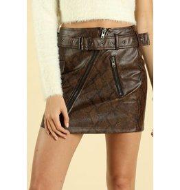 Snap Back Skirt