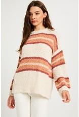 Girl In Stripes Sweater