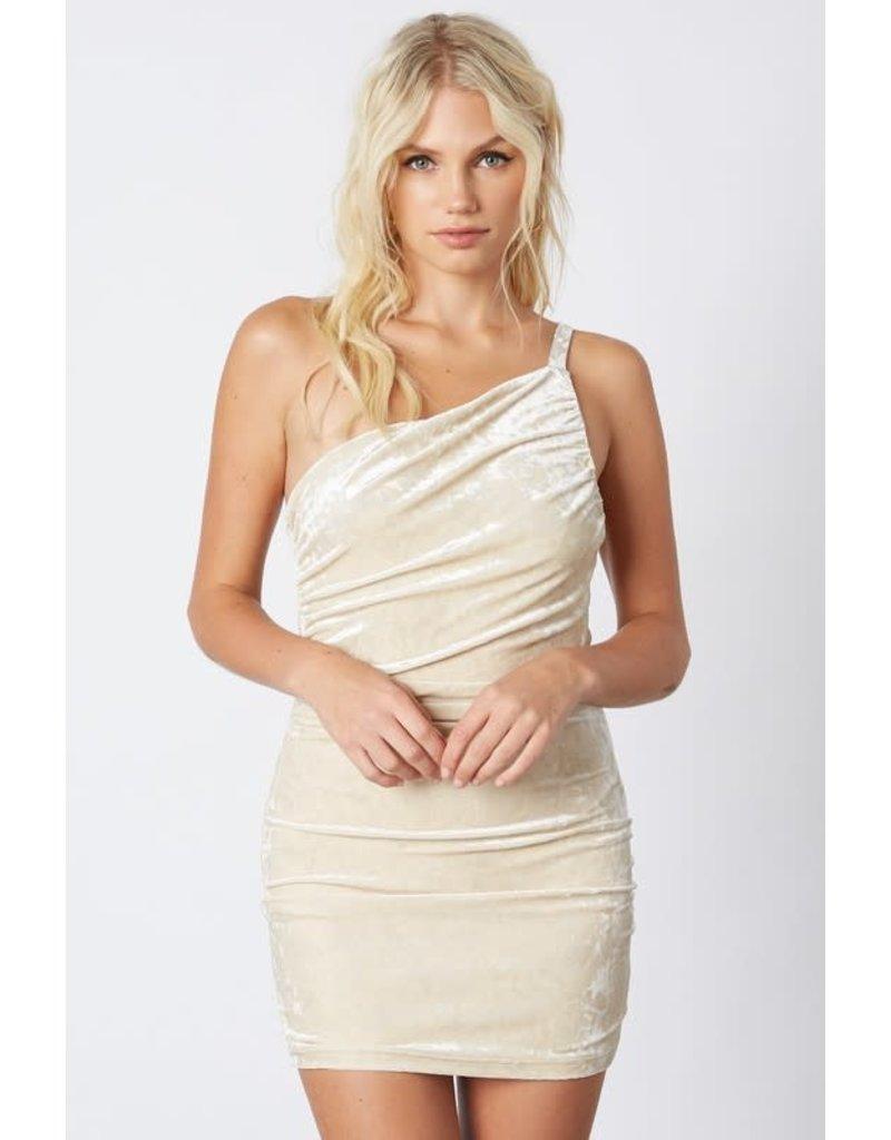 Crushing Hard Velvet Dress