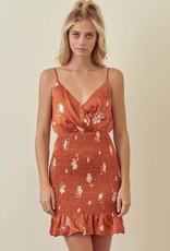 Take Me Out Smocked Dress