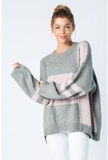 Blocked Off Sweater