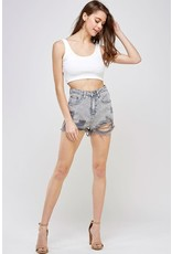 Bad Girl Distressed Shorts
