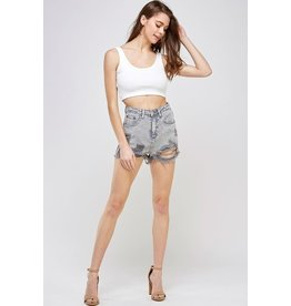Bad Girl Distressed Shorts