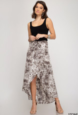 It's A Zoo Midi Skirt