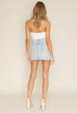 Only The Young Denim Skirt