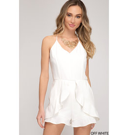 Out of This Town Romper