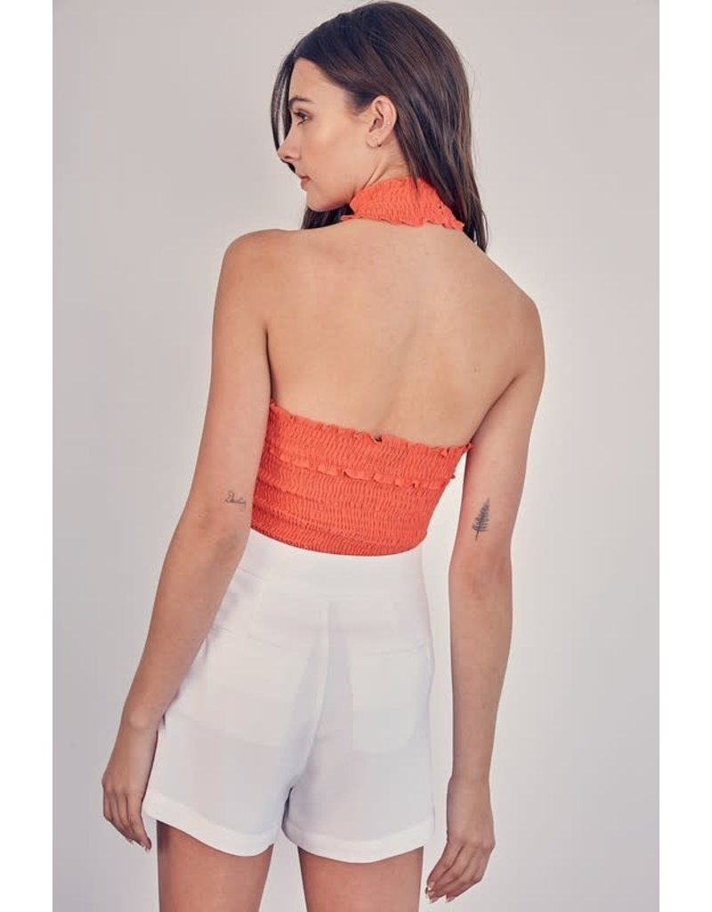 Over The Reef Halter Top