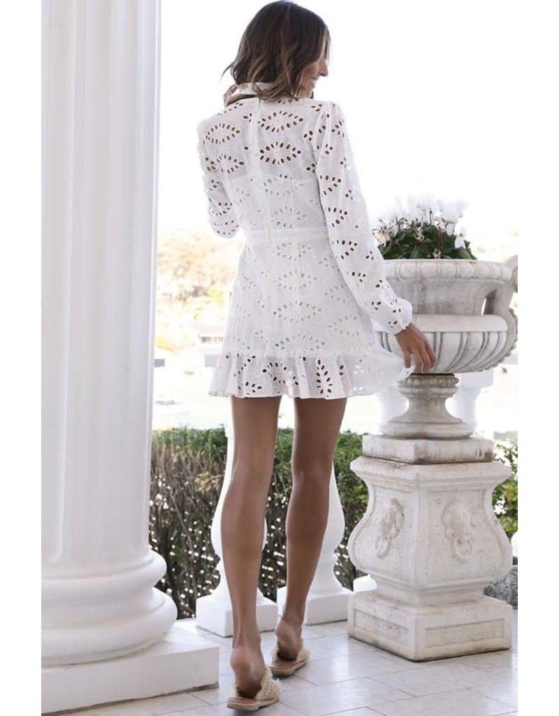 Annalise Eyelet Dress