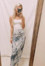 Ocean Deep Midi Skirt