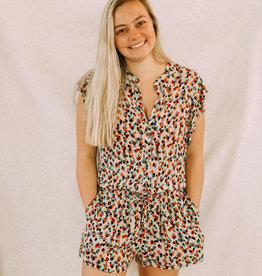 A Little Speckled Romper