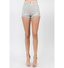 Shay Distressed Shorts