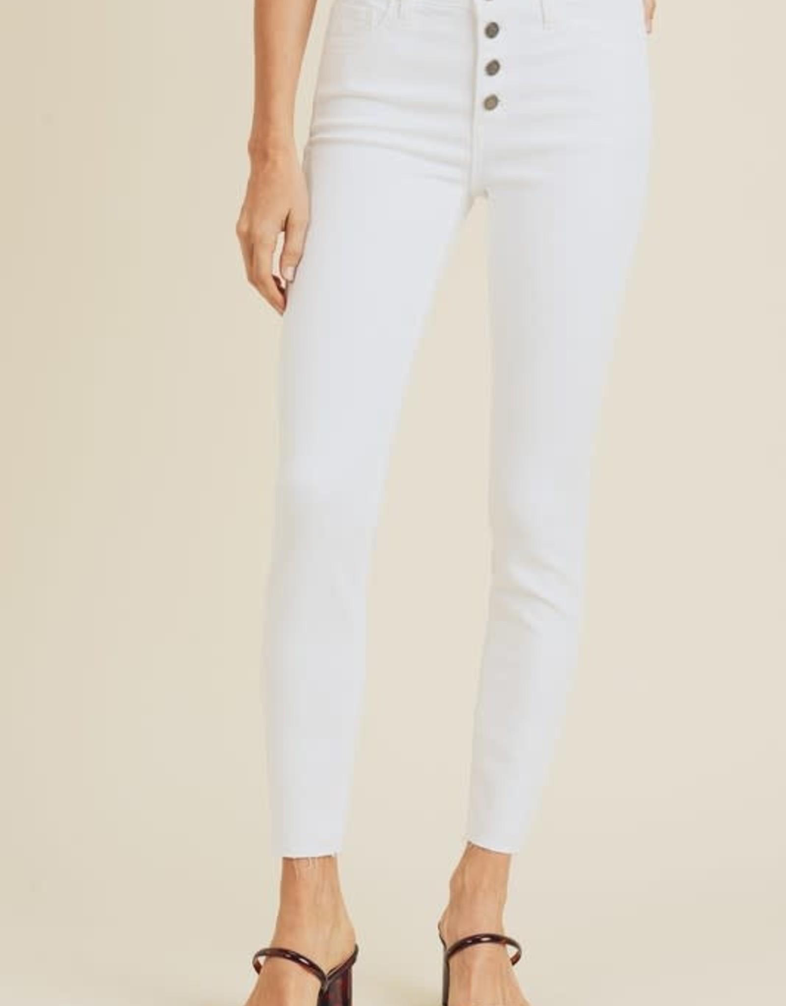 Cameron White Skinny Jeans