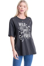 Wild and Free Tiger Grapic Tee
