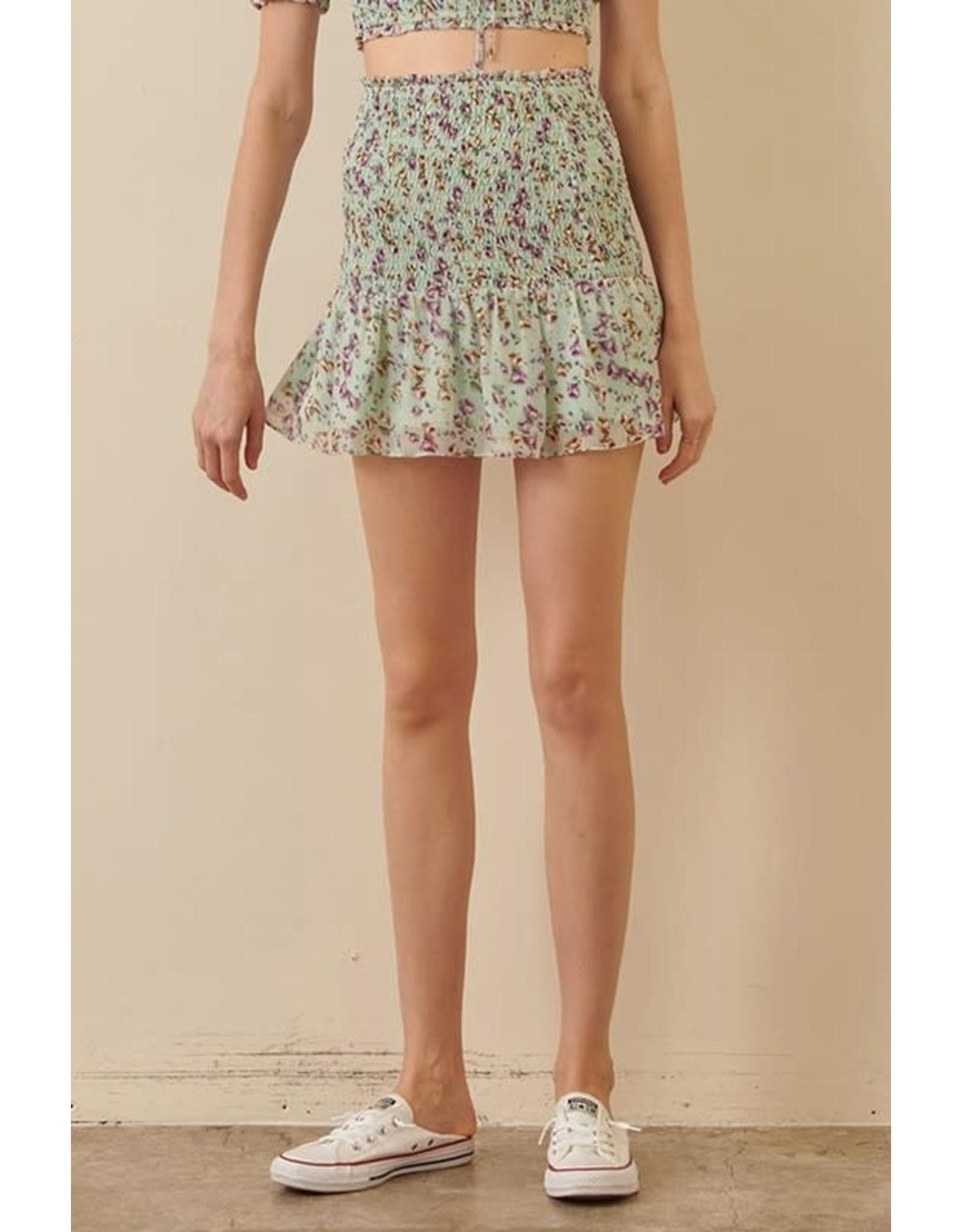 Little Flower Skirt
