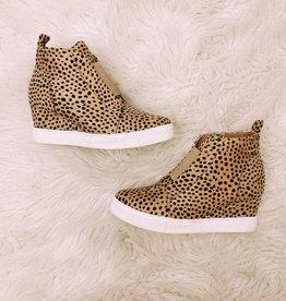 Zoey Cheetah Sneakers