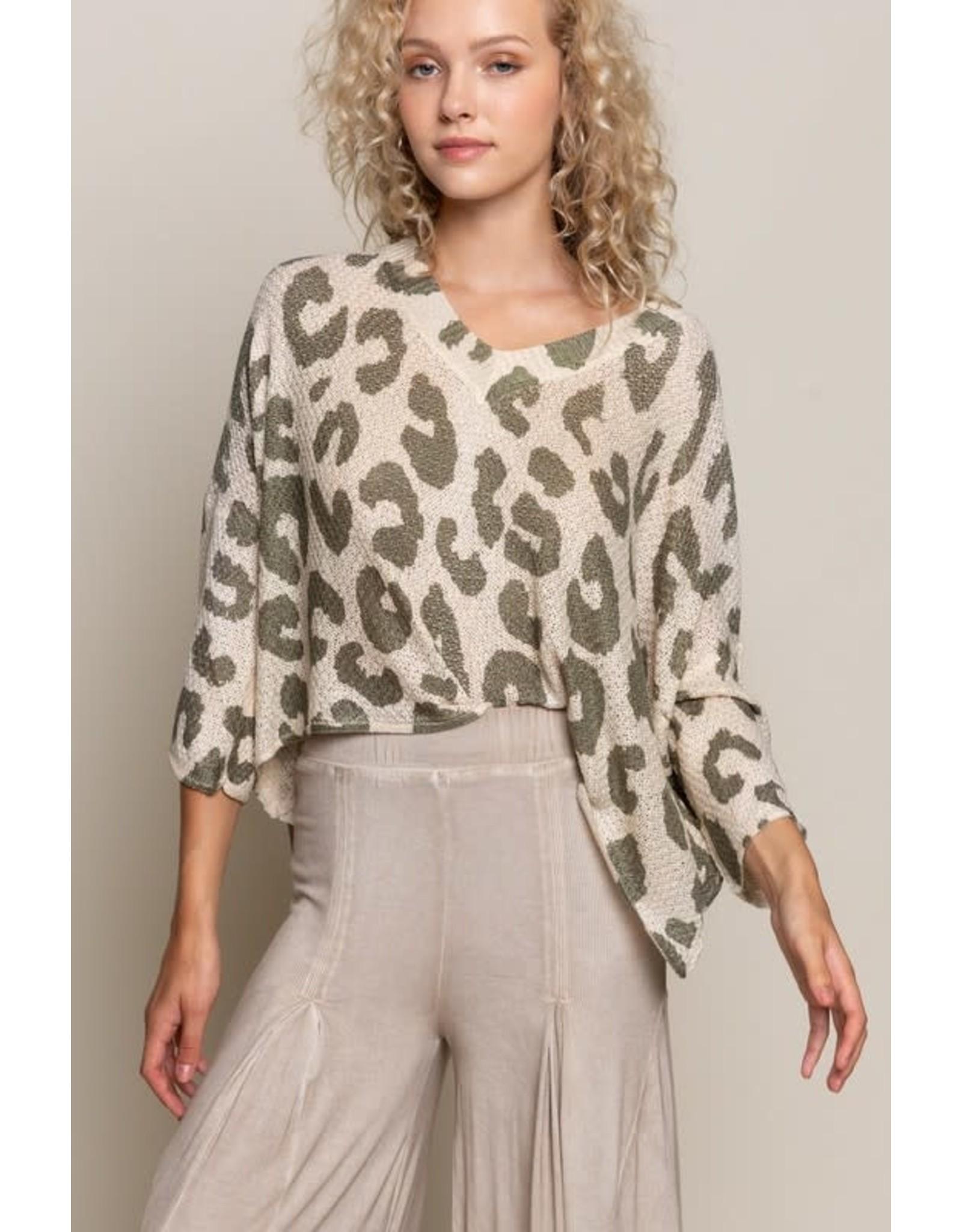 Jungle Vibes Light Sweater