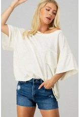 Because Of You Cropped Tee