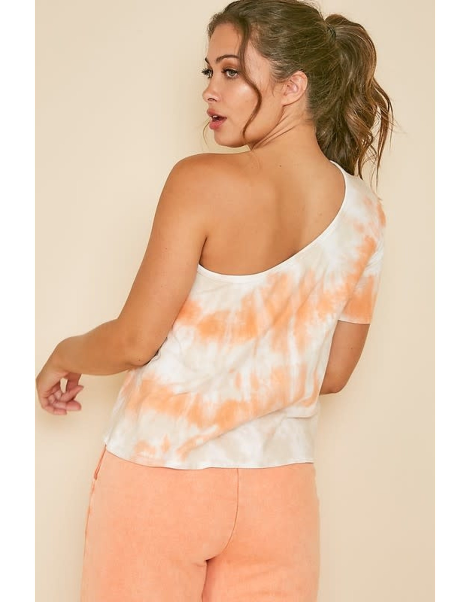 Stayin' Alive One Shoulder Top