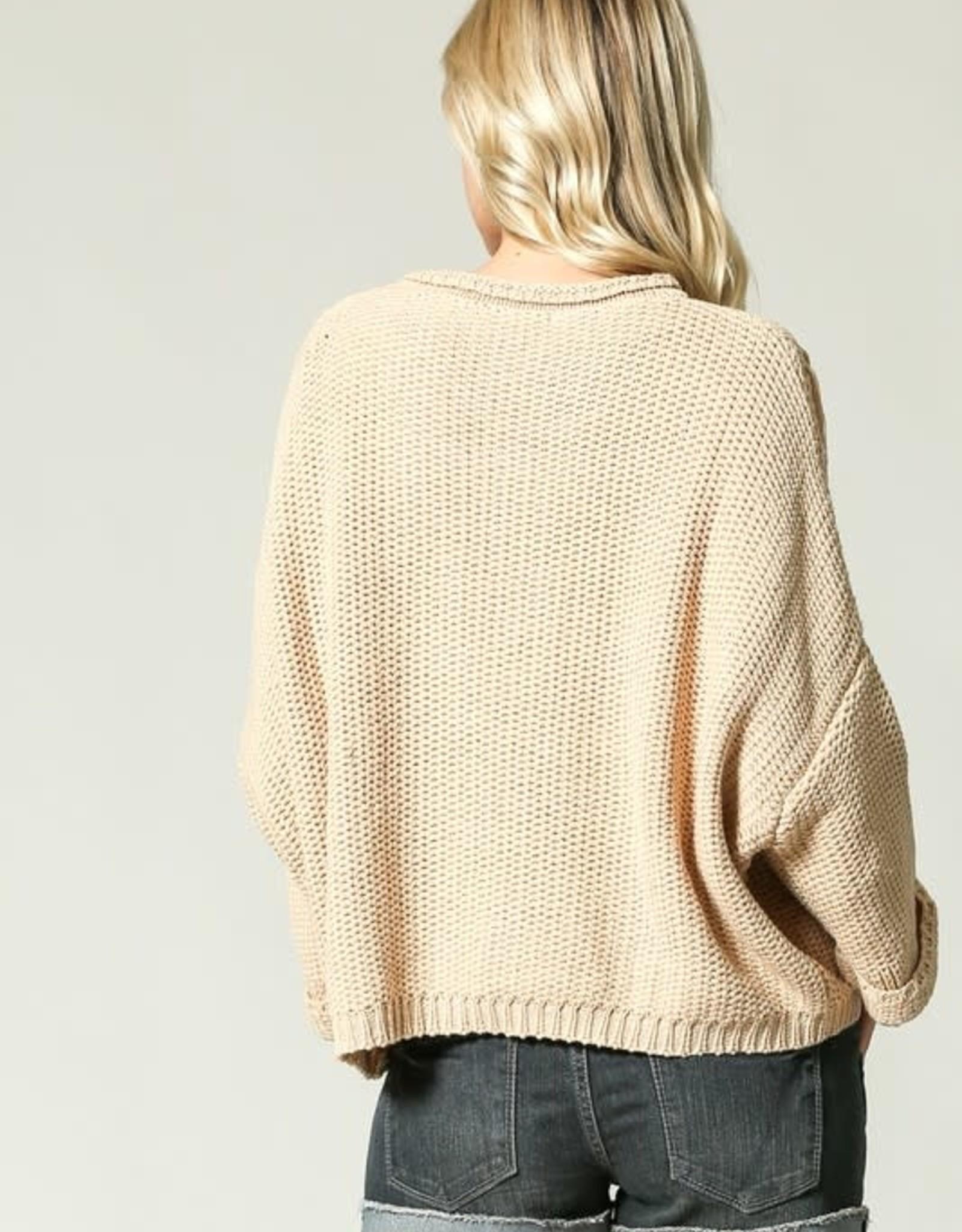 Don't Tell Me Fringe Sweater