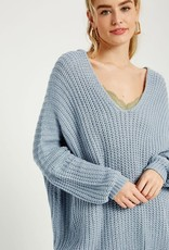 All Be Fine V-Neck Sweater