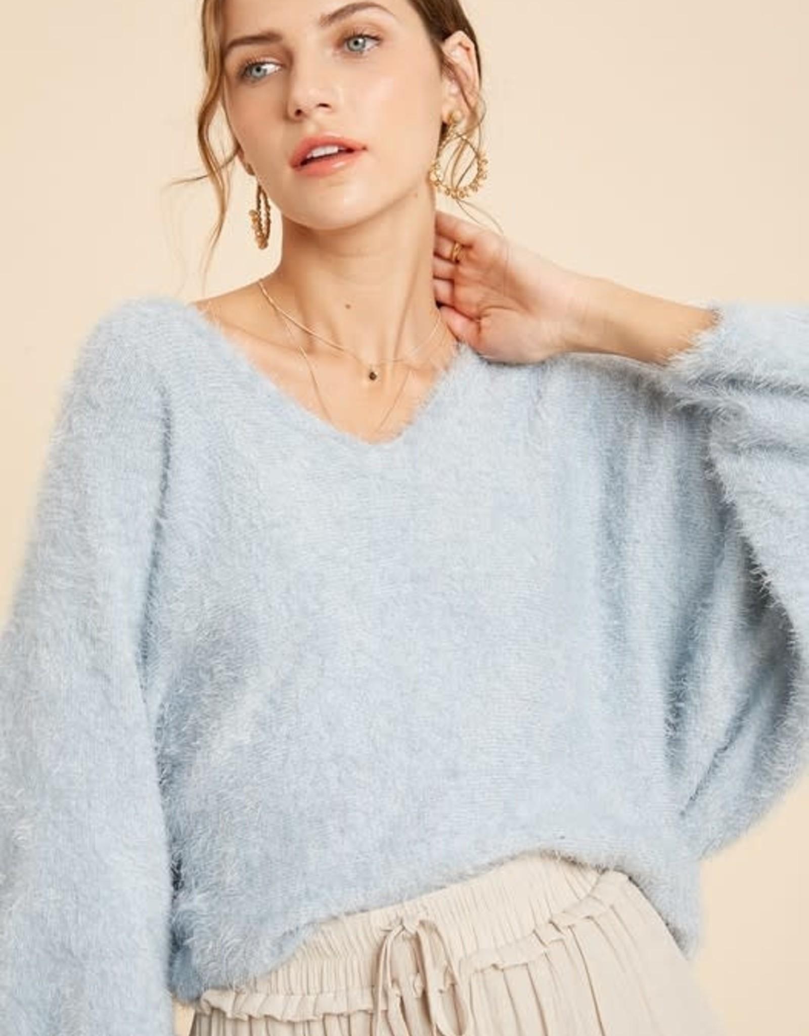 Just Add A Scarf Sweater
